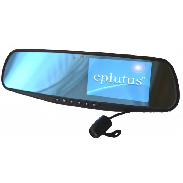 Зеркало видеорегистратор с камерой переднего купить